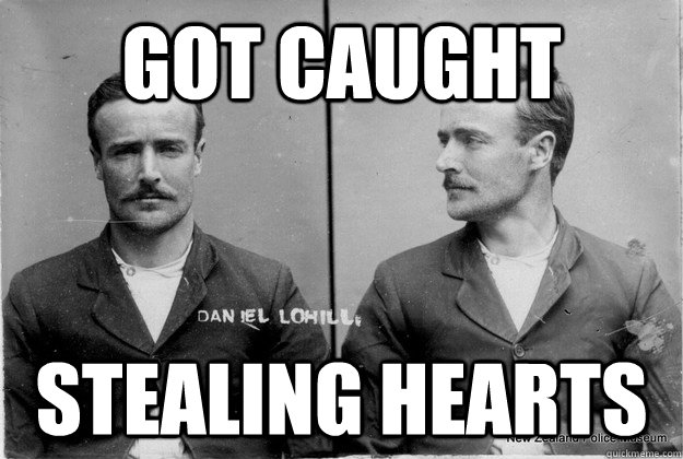 got caught stealing hearts - Ridiculously Photogenic 19th Century Criminal