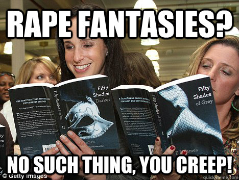 rape fantasies no such thing you creep - Perverted White Woman