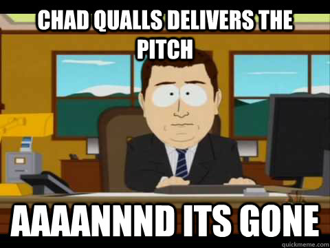 chad qualls delivers the pitch aaaannnd its gone - Aaand its gone