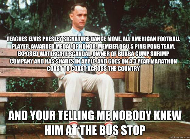 forest gump belonging Get all the details on forrest gump: analysis description, analysis, and more, so you can understand the ins and outs of forrest gump.