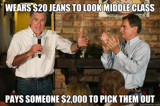 wears 20 jeans to look middle class pays someone 2000 to  - Politician