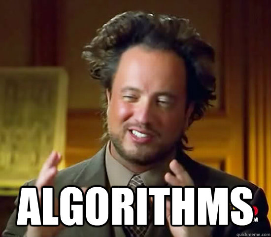 algorithms - Ancient Aliens