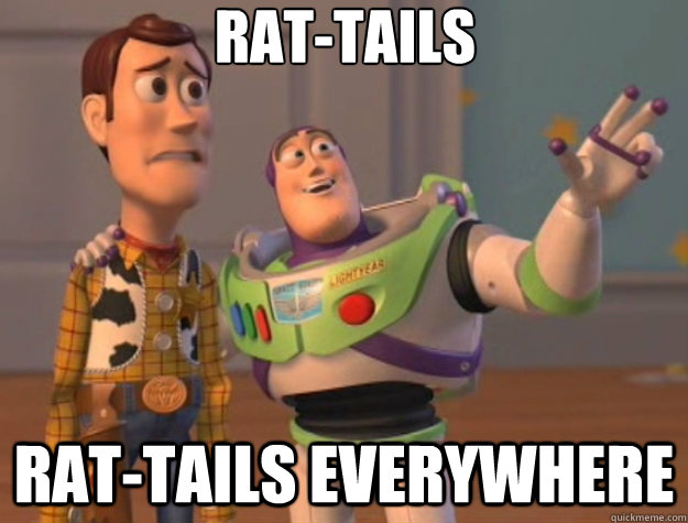 rattails rattails everywhere - Toy Story