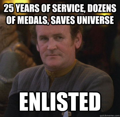 25 years of service dozens of medals saves universe enlist - Master Chief fixed