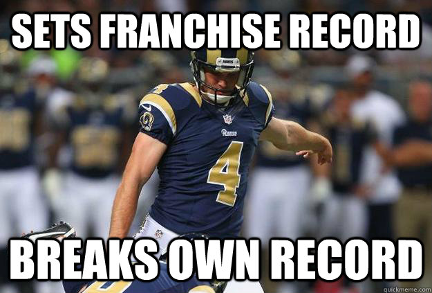sets franchise record breaks own record - Young GZ