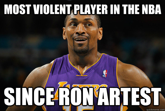 4ae440faab46 ron artest meme - 28 images - ron artest after he changed his name ...