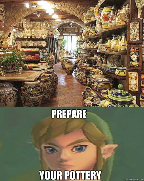 prepare your pottery -
