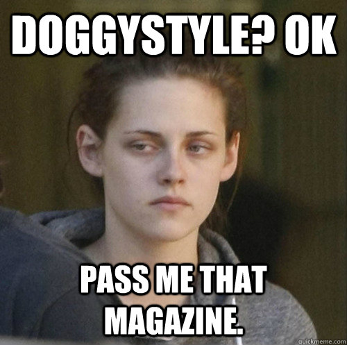 doggystyle ok pass me that magazine - Underly Attached Girlfriend