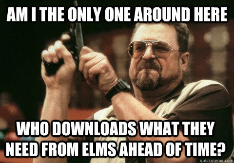 am i the only one around here who downloads what they need f - Am I the only one