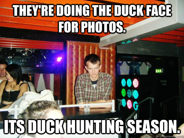 Duck face hunting meme - photo#7