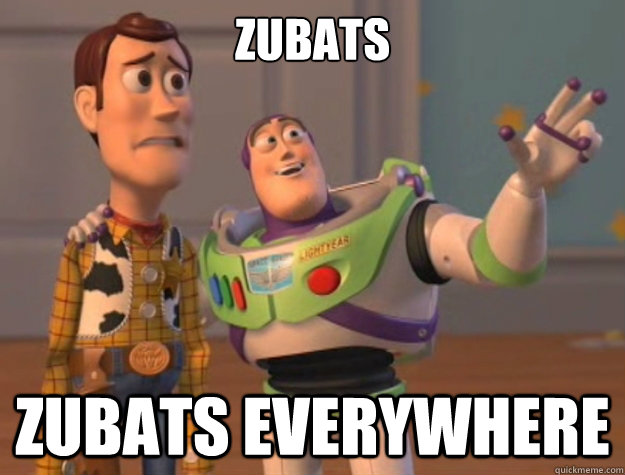 zubats zubats everywhere - Buzz Lightyear