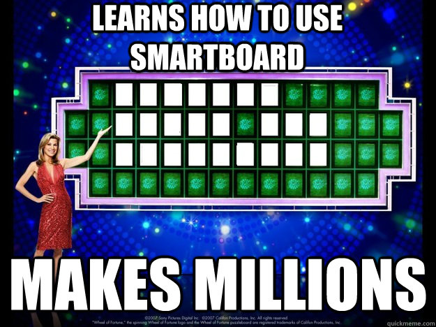learns how to use smartboard makes millions - The Smart Blonde