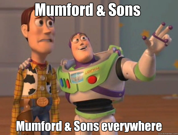 mumford sons mumford sons everywhere - Pinks everywhere