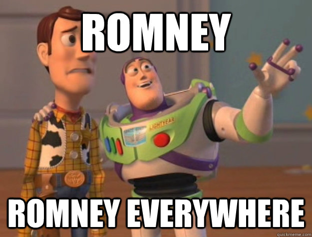 romney romney everywhere - Buzz Lightyear