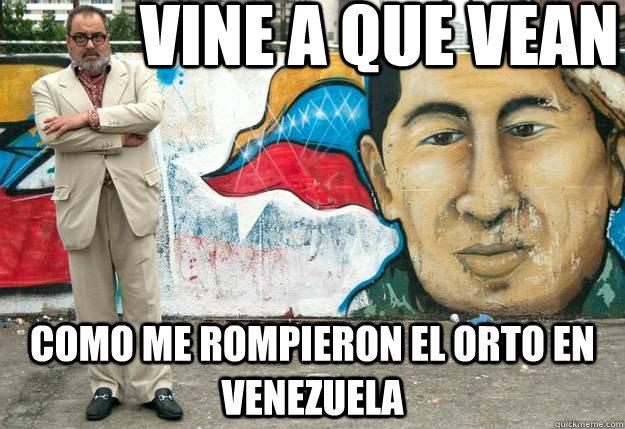 Lanata denuncia al gobierno de Chávez
