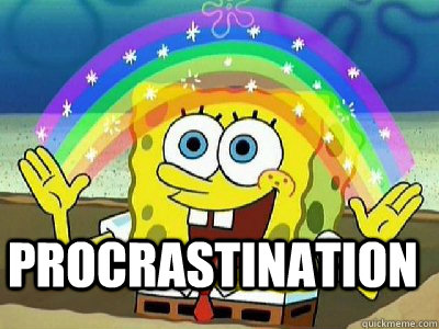 procrastination  - Imagination SpongeBob