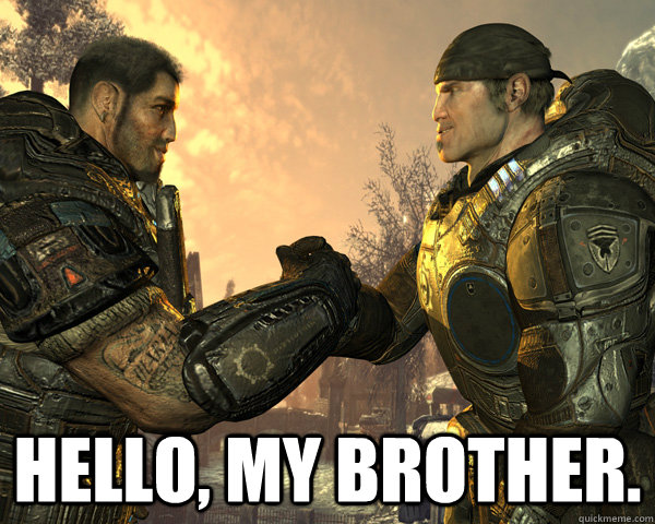hello my brother -