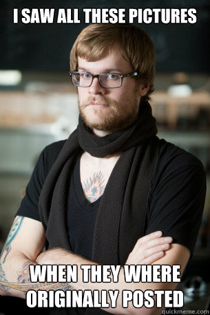 i saw all these pictures when they where originally posted - Hipster Barista