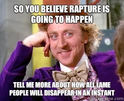 So you believe Rapyure is going to happen Tell me more about - Tell me more