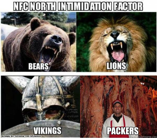 packers - NFC North Fixed