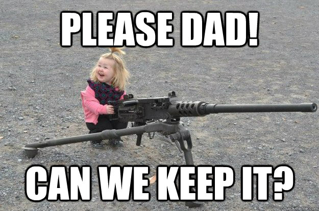 please dad can we keep it -