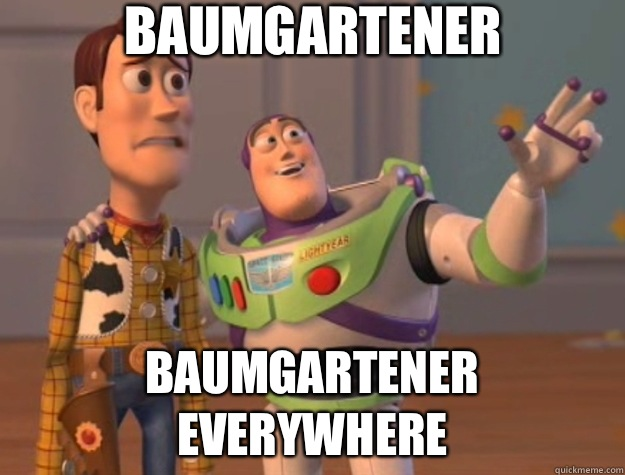 Baumgartener shitty drivers everywhere - Toy Story