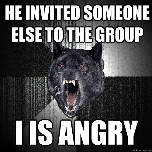 angry wolf meme - photo #3
