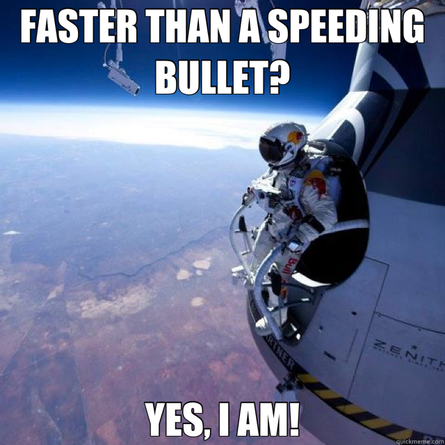 Faster than dating sites