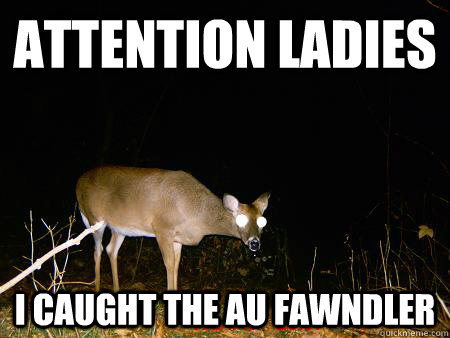 attention ladies i caught the au fawndler - The AU Fawndler