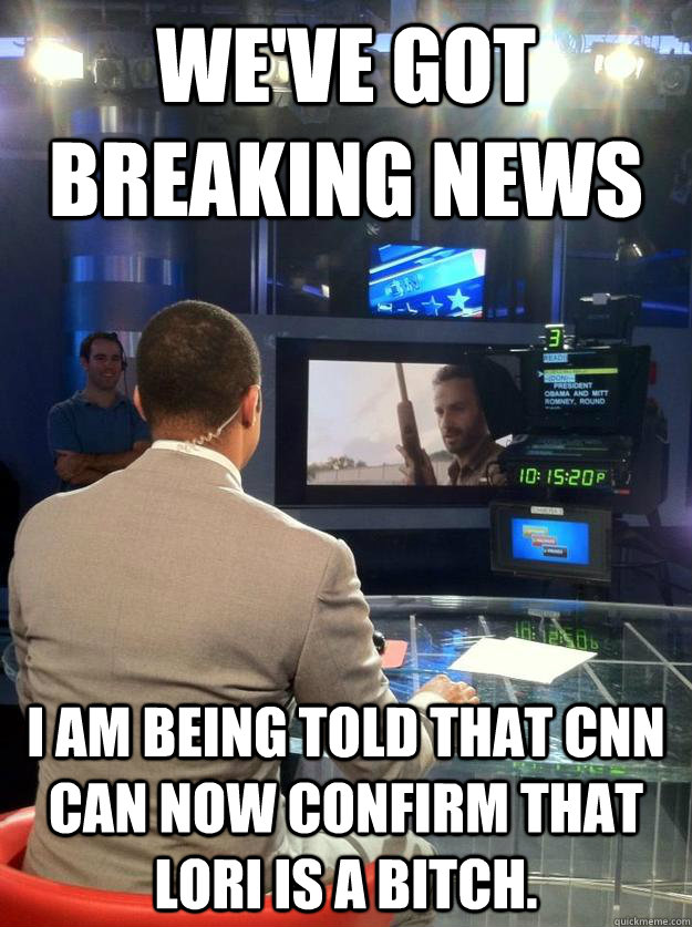 weve got breaking news i am being told that cnn can now con -