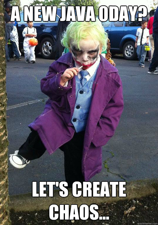 a new java 0day lets create chaos - Joker kid
