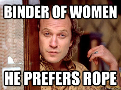 binder of women he prefers rope -