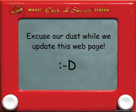 excuse our dust while we update this web page d - Good Guy Etch A Sketch