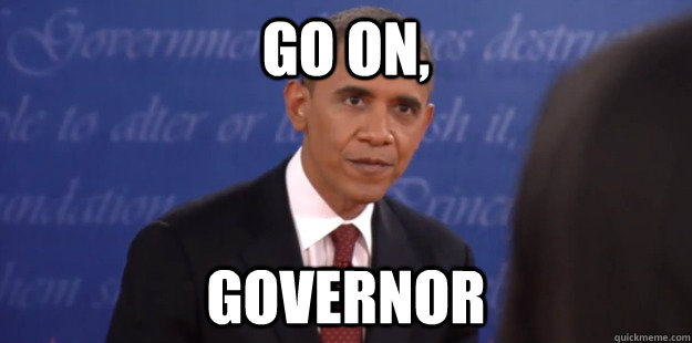 go on governor -