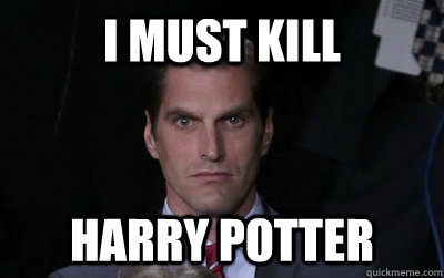 i must kill harry potter - Menacing Josh Romney