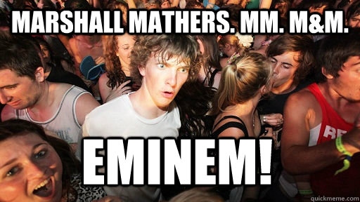 marshall mathers mm mm eminem - Sudden Clarity Clarence