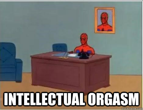 intellectual orgasm - Spiderman Desk