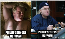phillip seemore hoffman phillip see less hoffman - 