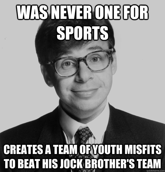 was never one for sports creates a team of youth misfits to  - 