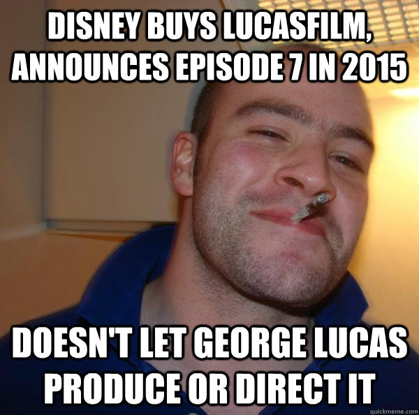disney buys lucasfilm announces episode 7 in 2015 doesnt l - Good Guy Greg