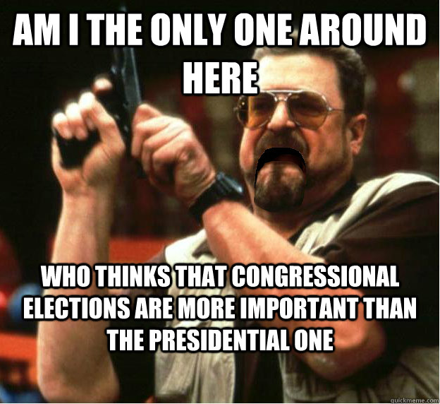 am i the only one around here who thinks that congressional  - Am I The Only One