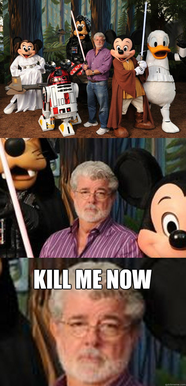 kill me now - Depressed George Lucas