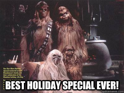 best holiday special ever -