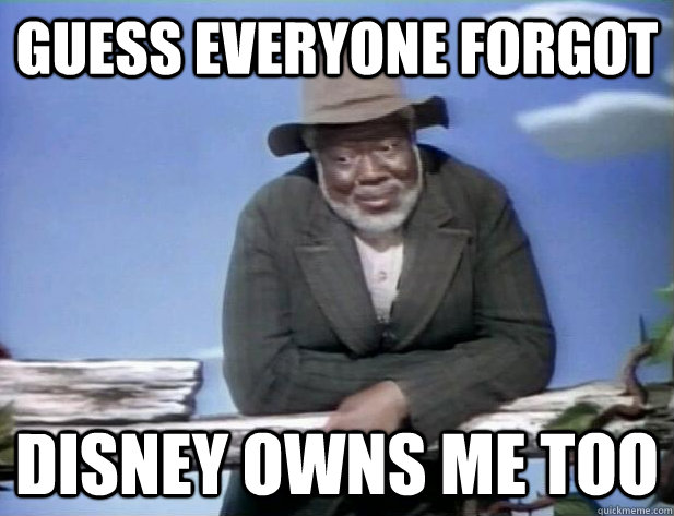 guess everyone forgot disney owns me too -