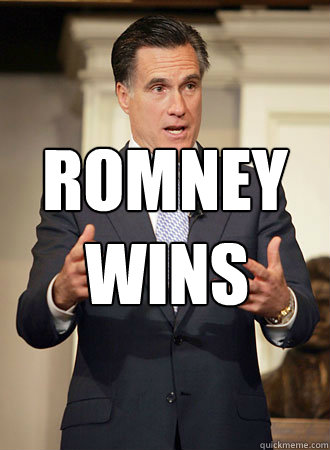 romney wins - Relatable Romney