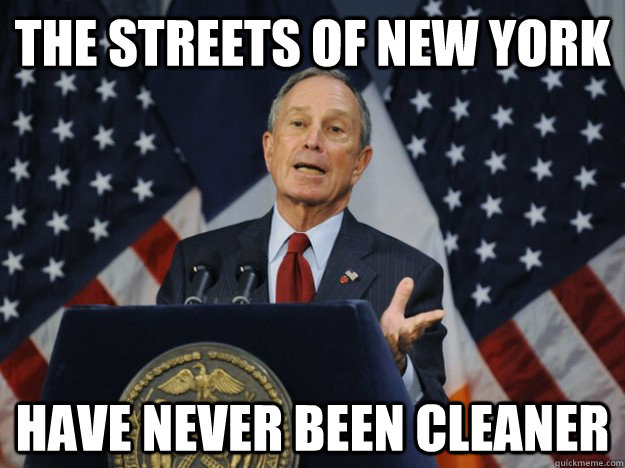 the streets of new york have never been cleaner -