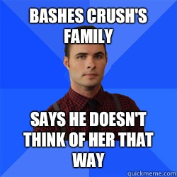 bashes crushs family  - Socially Awkward Darcy