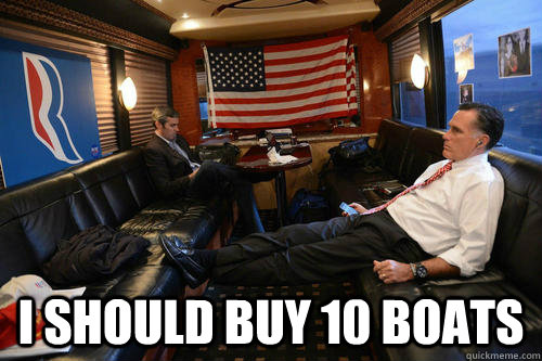 i should buy 10 boats - Sudden Realization Romney