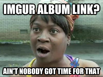 imgur album link aint nobody got time for that - Aint Nobody Got Time For That