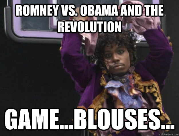 romney vs obama and the revolution gameblouses - Game blouses